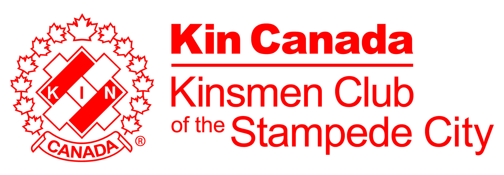 Kinsmen Club of the Stampede City Logo